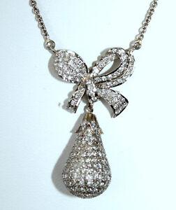 Anhaenger-mit-Brillanten-1-55-ct-Weissgold-18K-750-Collier-Halskette-nacklace