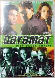 Qayamat Ajay Devgan Sunil Shetty Bollywood Hindi Dvd Ebay