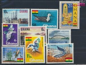 8777072 Ghana 297-305 Unmounted Mint Never Hinged 1967 National Symbols