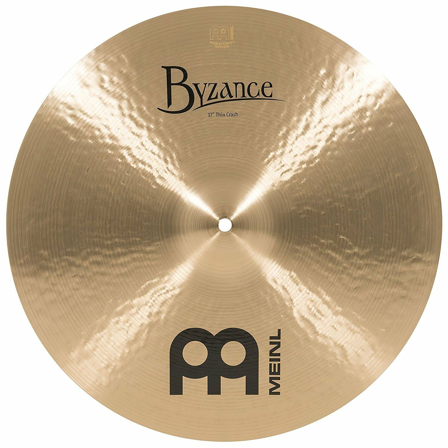 Meinl Byzance Byzance 17 Zoll Traditioneller Thin Crash Cymbal