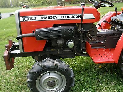 Agriculture Ingenious Massey Ferguson 1010 & 1020 Compact Tractor Workshop Manuel Chills And Pains