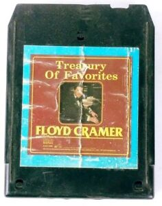 Treasury Of Favorites Floyd Cramer (8-Track Tape, DVS1-0688)