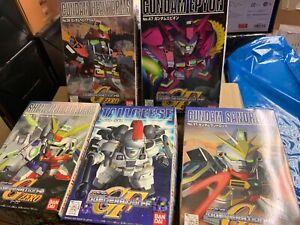 SD-Wing-Gundam-generation-Epyon-Tallgeese-Sandrock-Heavyarms-Shenlong-5-box-new