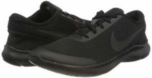 Nike-Flex-Experience-RN-7-WIDE-4E-Men-039-s-Running-Shoes-Triple-Black-AA7405-002