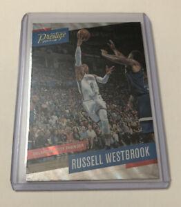 2017-18-Panini-Prestige-Mist-126-Card-Russell-Westbrook-Oklahoma-City-Thunder