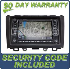 Honda CR-V Radio Navigation GPS Radio CD Disc Player DVD Rom 2AN2 XM MP3 OEM