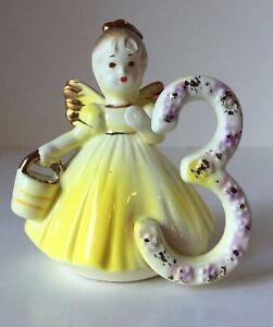 Josef-Originals-Yellow-3-rd-Birthday-Angel-Cake-Topper-Burnette