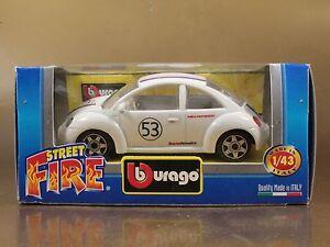 PI3-49-BBURAGO-BURAGO-1-43-STREET-FIRE-VOLKSWAGEN-NEW-BEETLE-N-53-NIB