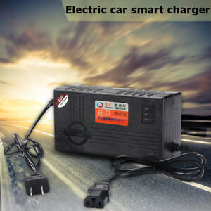 60V 20AH Lead Acid Battery Charger Adapter For Electric Bicycle Bike Scooters