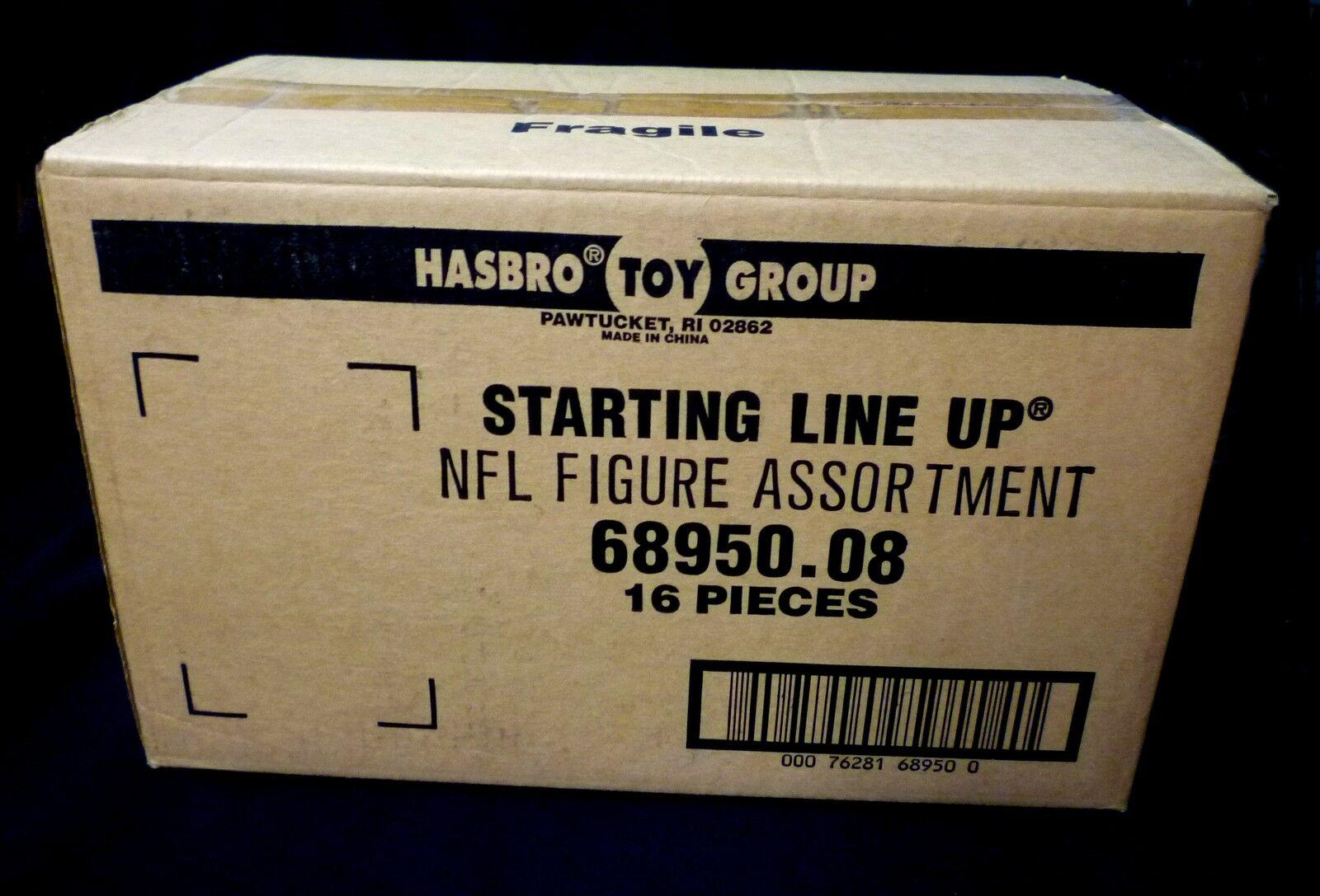 Hasbro Starting Line Up SLU NFL Football 1997 Sealed 16 Figure Case 68950.08