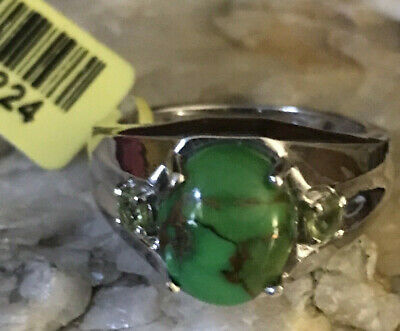 Chuck Clemency Ring-STS Ruby Zoisite /& Smoky Quartz 925 Sterling Silver Heart Shaped Ring