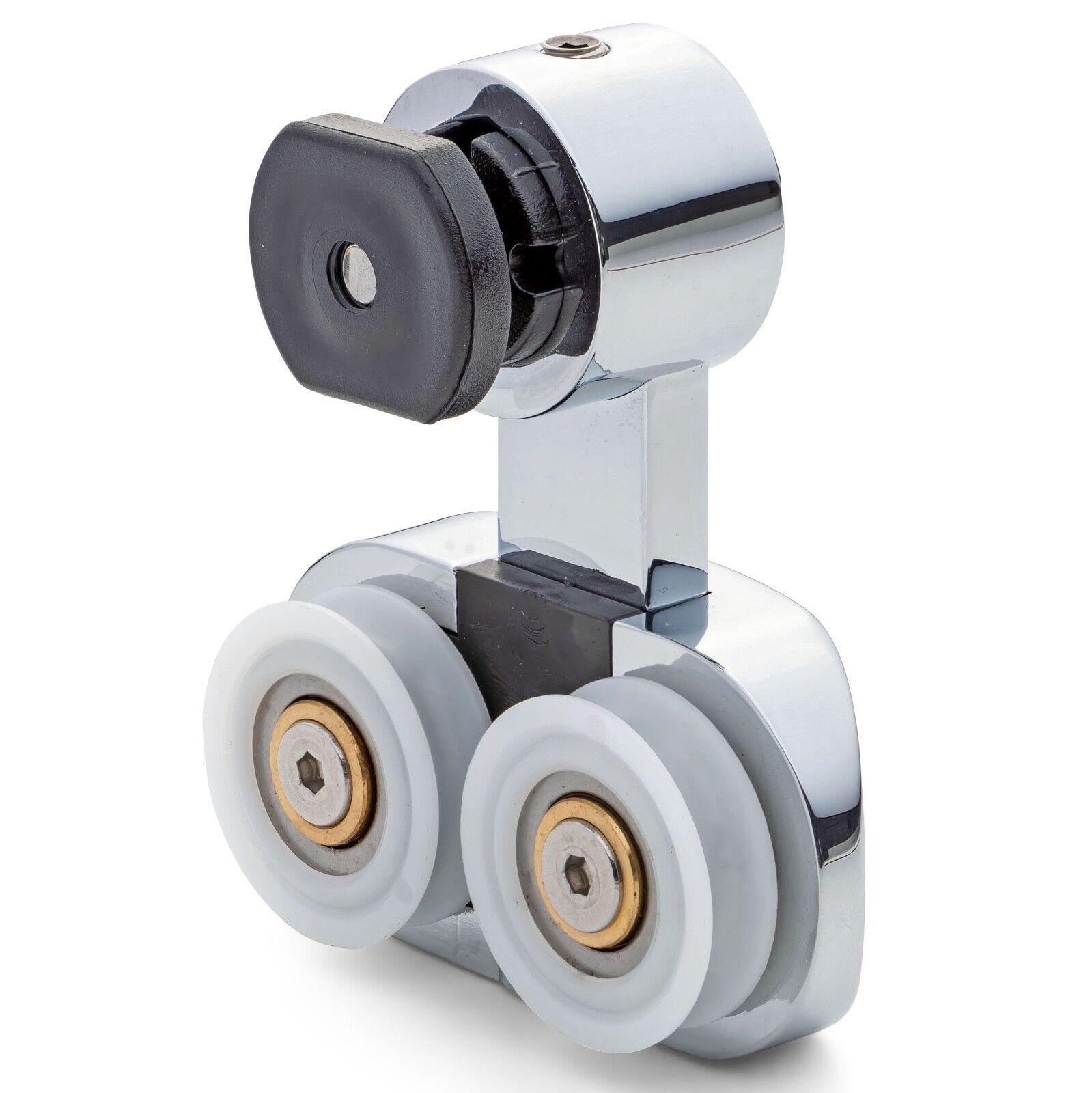 1 X Ducha Rodillo Rodillos de tipo de suspensión Ranurado Wheels AT7