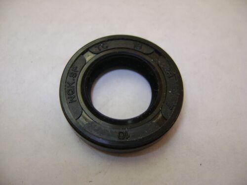 NEW TC 16X28X7 DOUBLE LIPS METRIC OIL DUST SEAL 16mm X 28mm X 7mm
