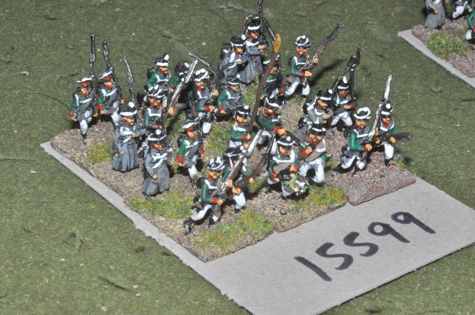 15mm napoleonic   russian - infantry 24 figs - inf (15599)