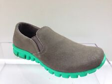 NoSox Women/'s Black Grey Moc Canvas Casual Slip On Everyday Shoes Size 8.5-11