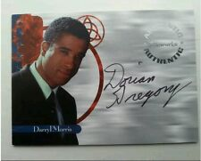 RARE CHARMED AUTOGRAPHED TRADING CARD A6 DORIAN GREGORY AS DARYL MORRIS