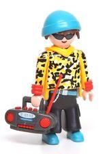 Playmobil Figure Mystery Series 9 City Life Teen Boy w/ Boom Box Radio Hat 5598