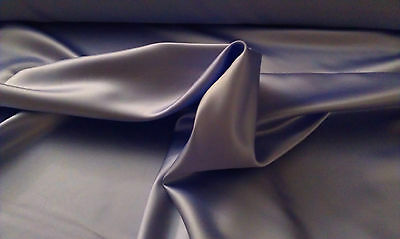 "ORCHID 100% POLYESTER BRIDAL LAMOUR SATIN FABRIC 58"" WIDE BY THE YARD"