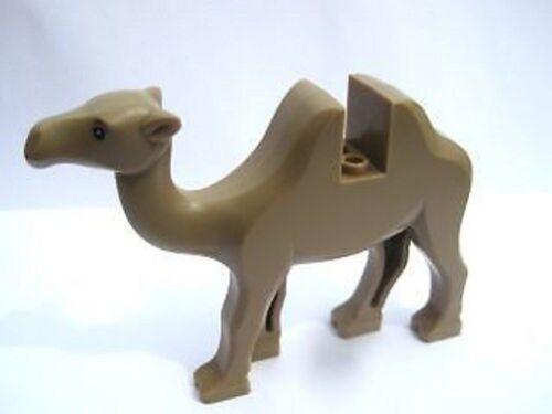 Camel with Black Eyes Animal LEGO Tan VERY RARE Minifig