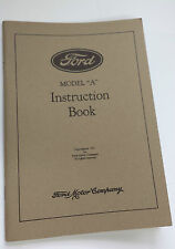 New 1931 Ford Model A Car Instruction Manual Owners Guide Operator Book