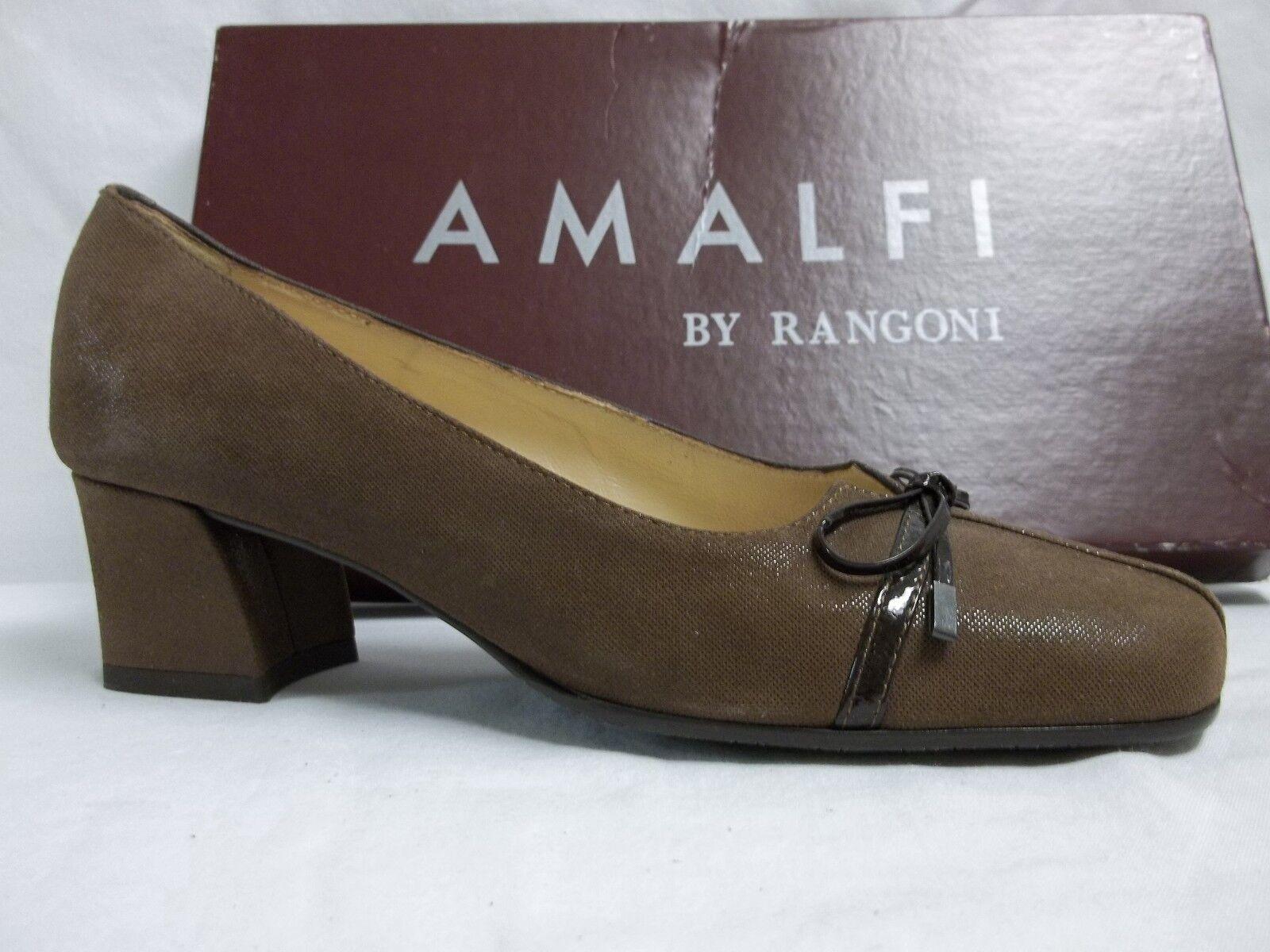 Amalfi By Rangoni Größe 6 M Chamy Damenschuhe Cacao Pumps New Damenschuhe Chamy Schuhes 658c93