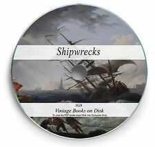 Rare Naval Disaster Shipwrecks Books on DVD  Ships Shipping Maritime Titanic G9