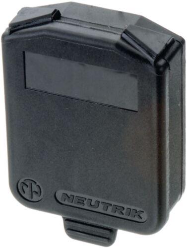 Neutrik Sealing Flap Ip 42 Black Parts