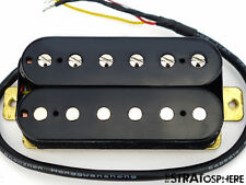 * NEW Alnico 5 Humbucker PICKUP Guitar Parts 4 Wire Black Bridge Position