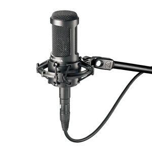 Audio Technica Cardioïde Microphone à Condensateur Avec Interrupteur At2035 Tout Correspondant En Couleur