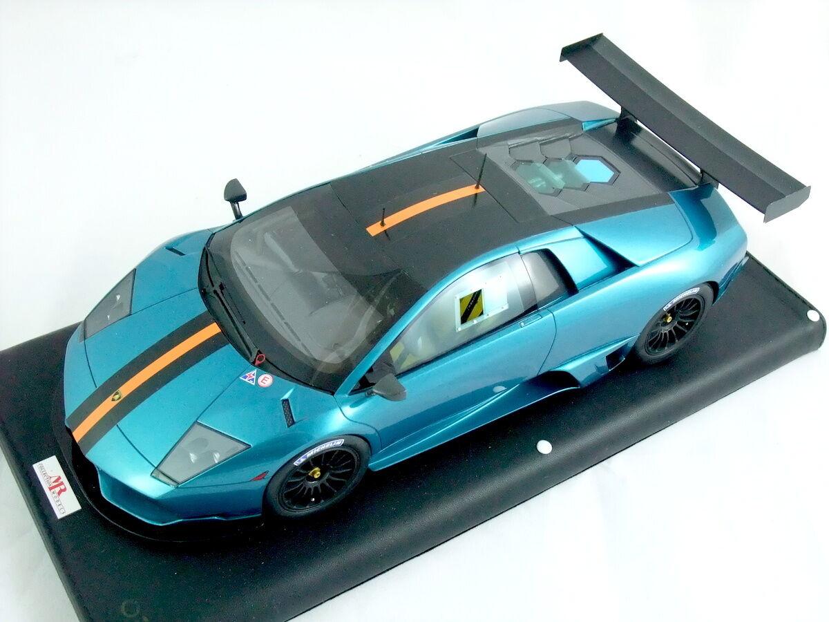 1  18 Lamborghini Murcielago LP670 R -SV konstemis grön ltd 18pcs.