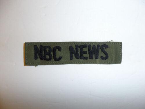 c0072 Vietnam NBC News tape for Fatigues Utilities Utilites OD R10C