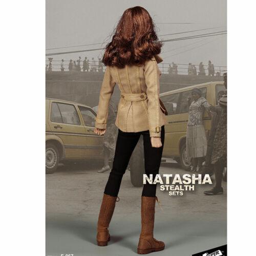 SUPERMCTOYS F-067 1//6 Black Widow Natasha Romanov Clothing For 12/'/' Girl Figure
