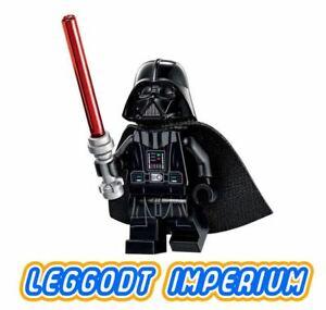 LEGO-Minifigure-Star-Wars-Darth-Vader-light-flesh-head-sw834-FREE-POST