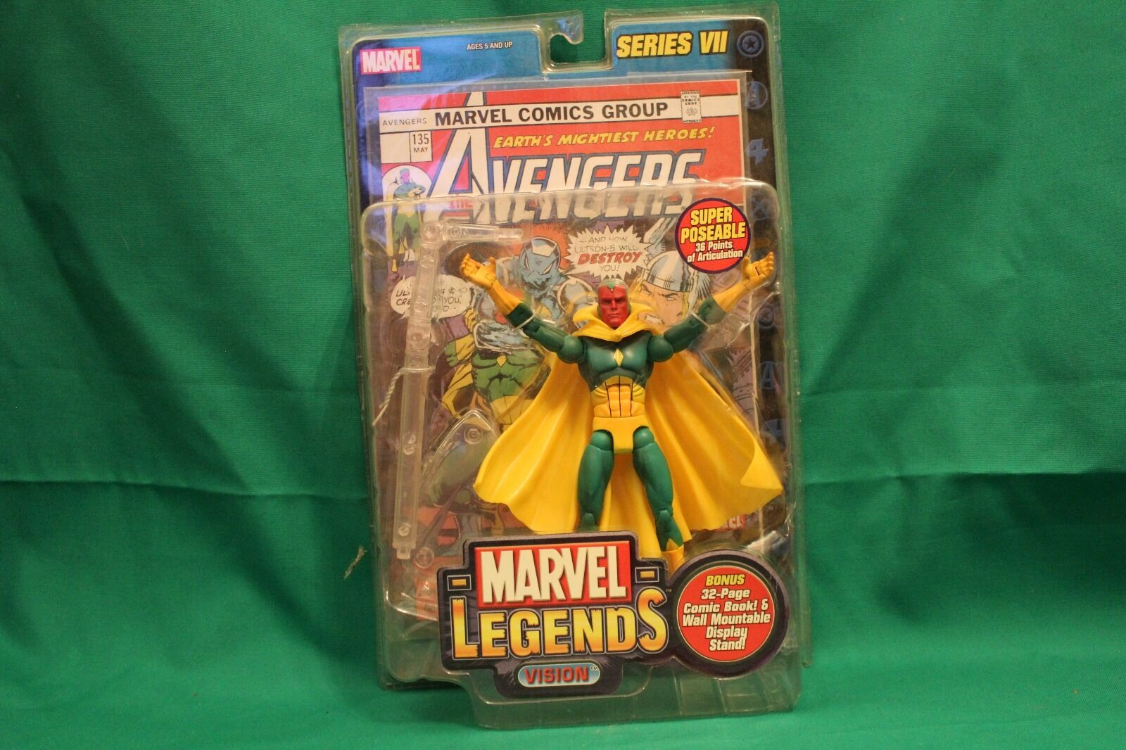 Marvel Legends Series VII Vision (2004)