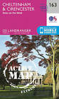 Cheltenham & Cirencester, Stow-on-the-Wold by Ordnance Survey (Sheet map, folded, 2016)