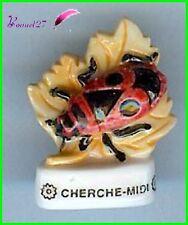 "Feve Les Insectes  Edition Atlas "" Le Cherche Midi  "" Gendarme Firebug  #C36"