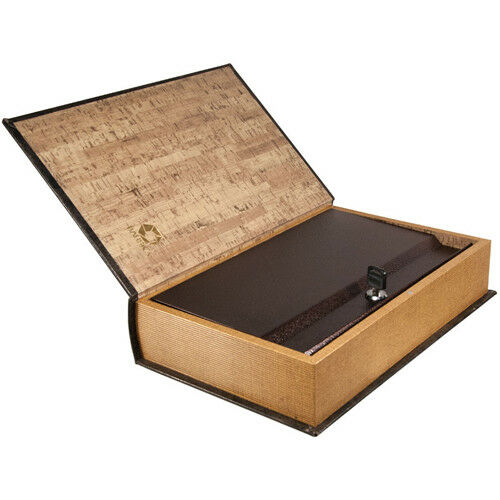 CB11992 with Key Lock Barska Beautiful Large Hidden Antique Book Lock Box Safe