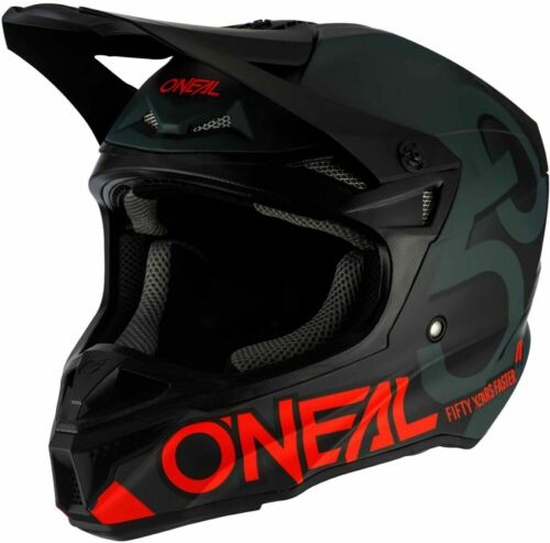 O/'Neal 5 Series Five Zero Helmet MX Motocross Dirt Bike Off-Road ATV Mens Adult