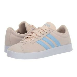 Adidas-Originals-VL-Court-2-0-Women-039-s-Shoes-US-8-8-5-New-In-Box-RUNS-HUGE