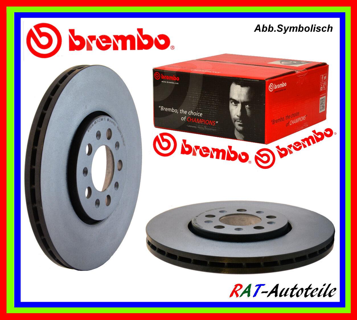 BREMBO Bremsscheiben beschichtet 09.4939.21 vorne Satz 2 Stück