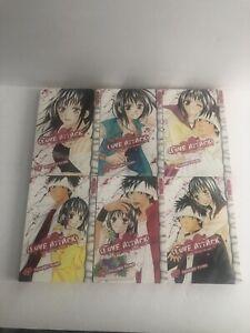 Love-Attack-Manga-By-Shizuro-Seino-Complete-Series-1-6-Excellent-Condition
