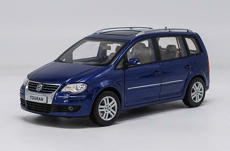 1 18 Shanghai Volkswagen Distribuidor Edición Aleación Coche Modelo Touran 2009 3 Coloreees
