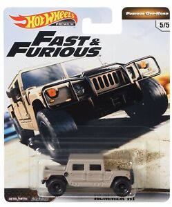 HOT-WHEELS-2019-FAST-amp-FURIOUS-FURIOUS-OFF-ROAD-HUMMER-H1-5-5