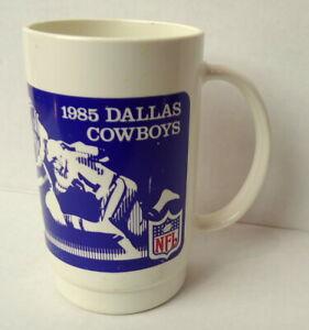 Dallas-Cowboys-Burger-King-Plastic-Dr-Mug-Pepper-Football-Graphics-1985