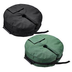 Round-Weight-Sand-Bag-for-Outdoor-Umbrella-Offset-Base-Stand-Patio-Garden