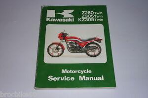 Manuel Revue Technique Atelier Kawasaki Kz Z 250 79-91 Kj5bklhw-08003429-690771181