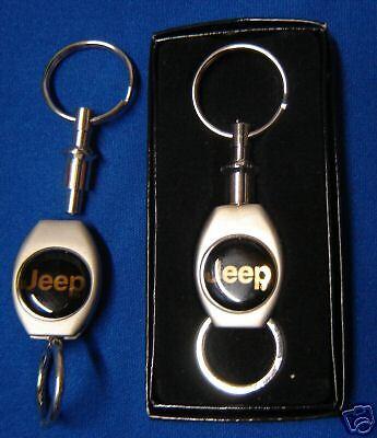 JEEP KEYCHAIN TWIST PADLOCK VALET STYLE