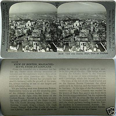 Keystone Stereoview Aerial view NIAGARA FALLS /& Rapids From 600//1200 Card Set #A