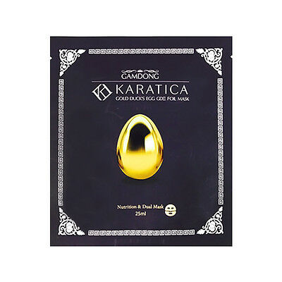 [KARATICA] Gold Duck's Egg GD 2 Foil Mask 1/2/5pcs Lot