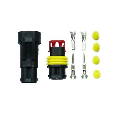 6 Way AMP Tyco TE Superseal Style Electrical Waterproof Connectors